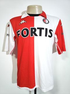 Camisa Futebol Oficial Feyenoord Holanda 2005 Home Kappa Gg