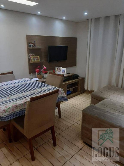 Apartamento Com 2 Dormitórios À Venda, 54 M² Por R$ 210.000,00 - Santa Terezinha - São Bernardo Do Campo/sp - Ap0717