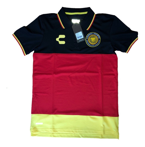 Playera Polo Charly Leonés Negros Original