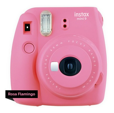 Câmera Fujifilm Instax Mini 9 Rosa Flamingo
