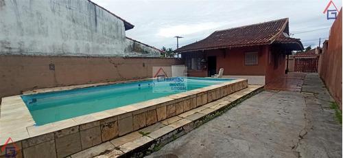 Imagem 1 de 15 de Casa Para Venda Em Mongaguá, Balneário Flórida Mirim, 2 Dormitórios, 1 Suíte, 1 Banheiro, 4 Vagas - 343_1-1174401