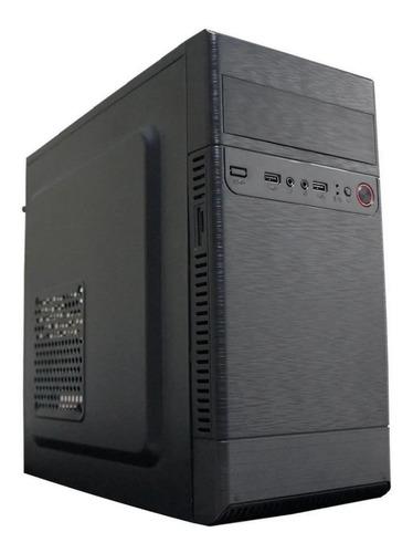 Imagem 1 de 2 de Cpu Intel Pc Torre Computador 4gb Ssd 120gb Com Nf  Bônus