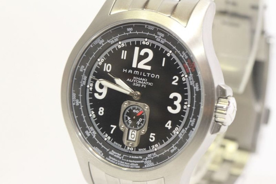 Relógio Hamilton Aviation Automático. Caixa/manual/garantia