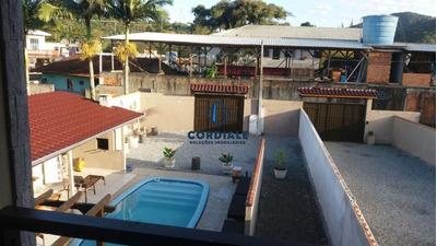 Casa Com Piscina Para Temporada Na Praia Do Estaleirinho Em Bc - Ca00109 - 34053254