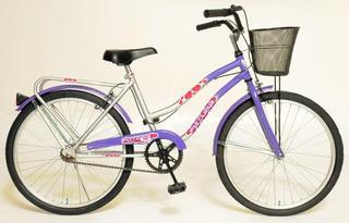 Bicicleta Urbana Futura R 24 Full Dama 5215