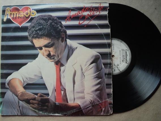 Lp Amado Batista- Amado- 1984- Original- Frete 15,00