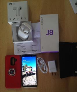 Celular Samsung J8. 32 Gb De Memoria