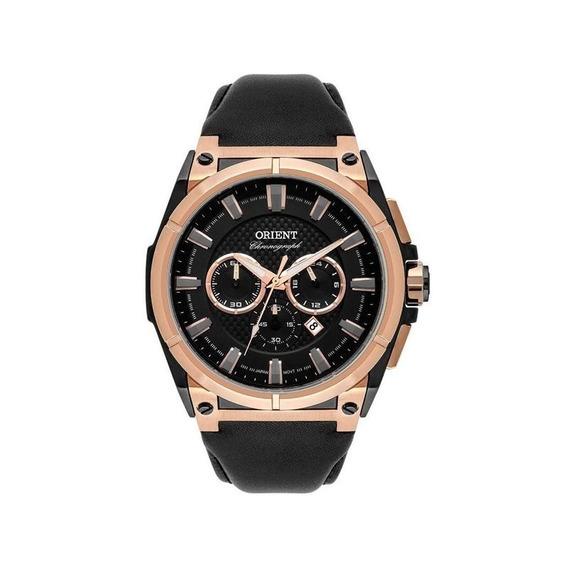 Relógio Orient Masculino Preto/rosê Mtscc034 P1px