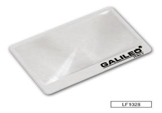 Lupa Fresnel Galileo Tipo Tarjeta Lf1028 85x55mm 3x