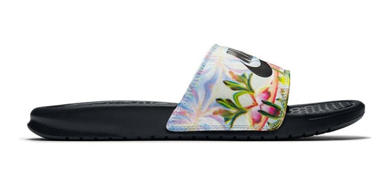 Ojotas Nike Mujer Benassi Just Do It Print 5914