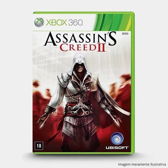 Assassins Creed 2 Xbox 360 Midia Fisica + Brinde