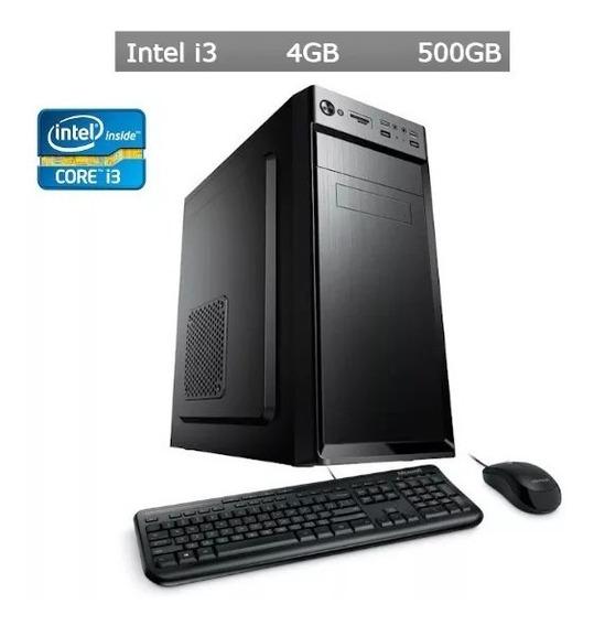 Computador Desktop I3 3ª 3220 4gb Hd 500gb Kit