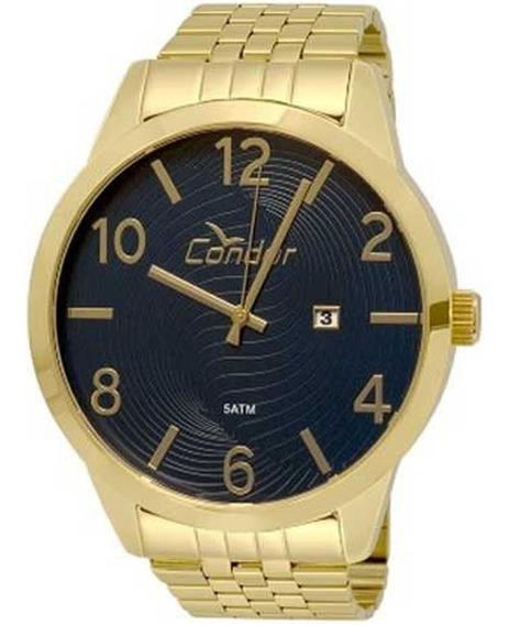Relógio Condor Masculino Metal Co2115wl/4a Dourado