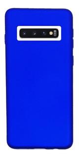 Funda Silicone Case Samsung S10 Plus Azul