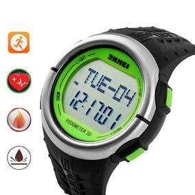 Relógio Esportivo Skmei Monitor De Ritmo Cardíaco Pedômetro