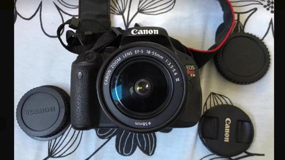 Canon Eos Rebel T3i Com Lente 18-55mm