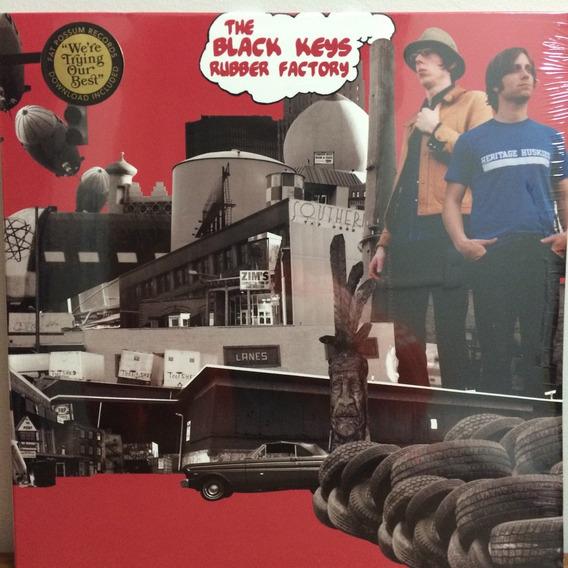 Lp The Black Keys - Rubber Factory Importado + Bônus Lacrado