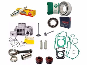 Kit Motor Completo Biela Juntas Cg Titan Fan 150 Bros 150