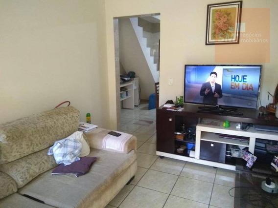 Sobrado Com 2 Dormitórios À Venda, 150 M² Por R$ 280.000 - Serraria - Diadema/sp - So0387