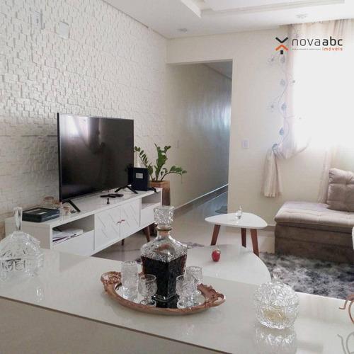 Imagem 1 de 30 de Cobertura Com 2 Dormitórios À Venda, 53 M² Por R$ 500.000 - Vila Alzira - Santo André/sp - Co1127