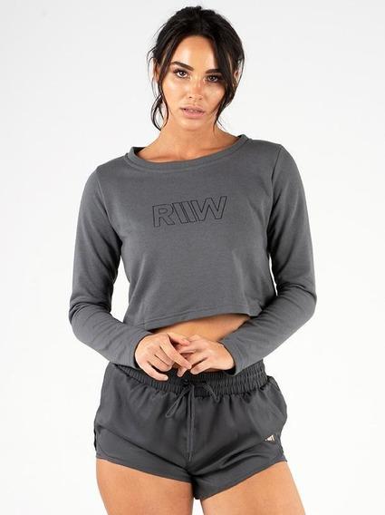 Ease Cropped Sweater Ryderwear 100% Original