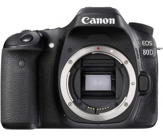 Canon Eos 80d Corpo Nota Fiscal