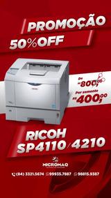 Impressora Rioh Sp4110 / 4210 Menor Preço