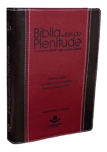 Imagem 1 de 5 de Bíblia De Estudo Plenitude  Com Índice