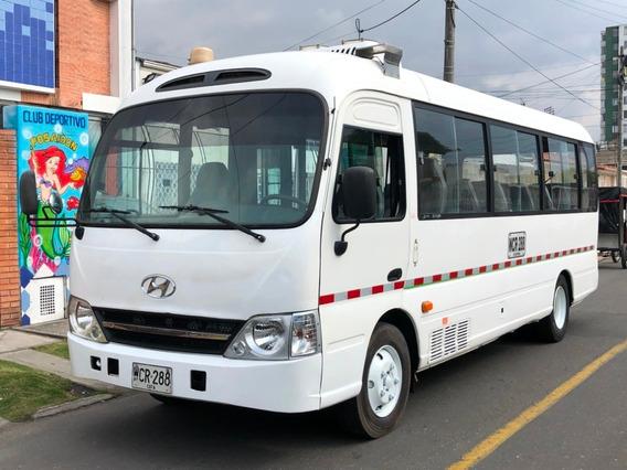 Autobuses Buses Hyundai County 4000cc Tdi Mt Aa Dh Fe