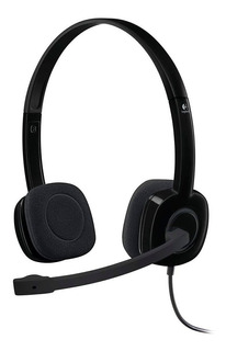 Auricular Logitech H151 Con Microfono Miniplug 3.5 Vincha Headset Dmaker
