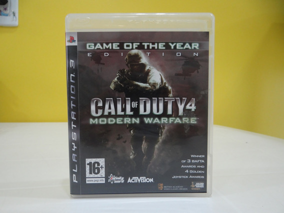 Call Of Duty 4 Modern Warfare - Ps3 - Completo!