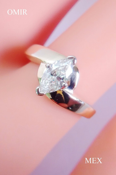 Anillo Diamante Compromiso Oro 14k
