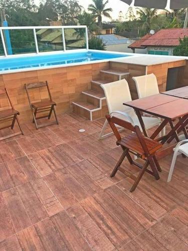 Casa Com 4 Dormitórios À Venda, 167 M² Por R$ 950.000,00 - Riviera De São Lourenço - Bertioga/sp - Ca0111