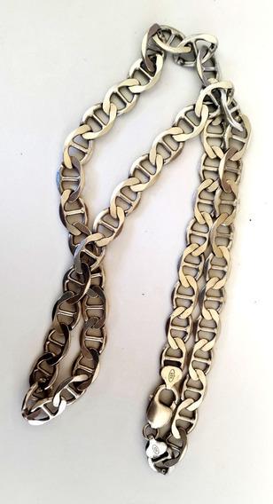 Corrente Prata 925 Cordão Masculina Excelente Estado 61,5cm