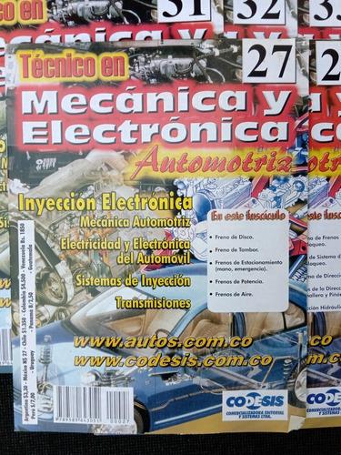 Tecnico En Mecanica Y Electronica Automotriz Varios Numeros