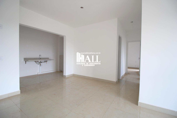 Apartamento Com 3 Dorms, Vila Nossa Senhora Do Bonfim, São José Do Rio Preto - R$ 408.000,00, 77m² - Codigo: 3184 - V3184