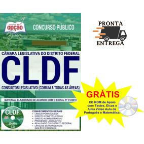 Apostila Cldf 2018 Consultor Legislativo - Todas As Áreas