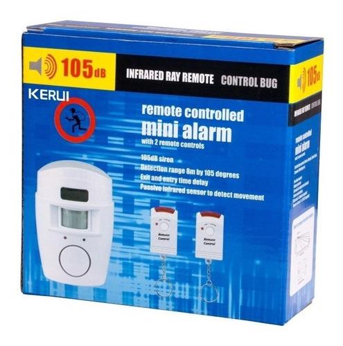 Imagen 1 de 4 de Alarma Anti Robo Timbre Protege Tu Hogar Camaras Seguridad