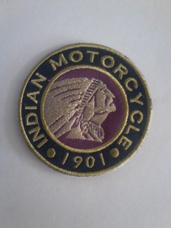 Parche De Indian Motorcycle De 9,5 Cm