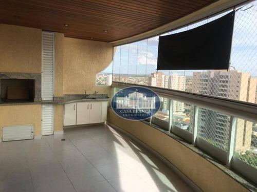 Apartamento, 213 M² - Venda Por R$ 890.000,00 Ou Aluguel Por R$ 3.000,00/mês - Vila Mendonça - Araçatuba/sp - Ap0681