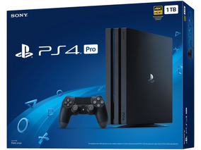 Playstation 4 Pro 1tb 4k Hdr Sony Ps4 Novo Com 2 Controles