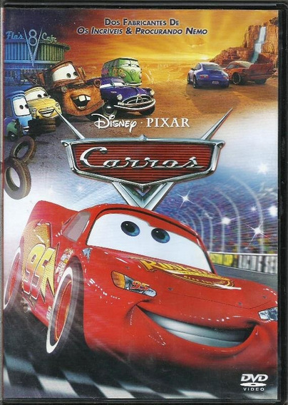 049 Fdv- 2006 Dvd Filme- Carros- Disney Pixar
