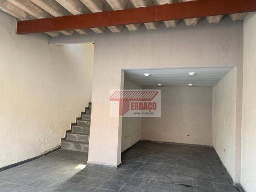 Imagem 1 de 16 de Casa Com 2 Dormitórios À Venda, 122 M² Por R$ 430.000,00 - Jardim Stella - Santo André/sp - Ca0475