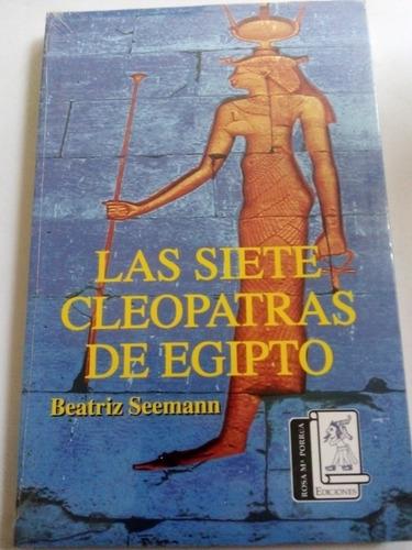 Imagen 1 de 3 de Libro Cleopatra Las Siete Cleopatras De Egipto Nuevo Sellado