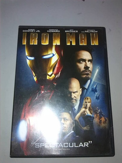 Iron Man, Película Original En Dvd Marvel