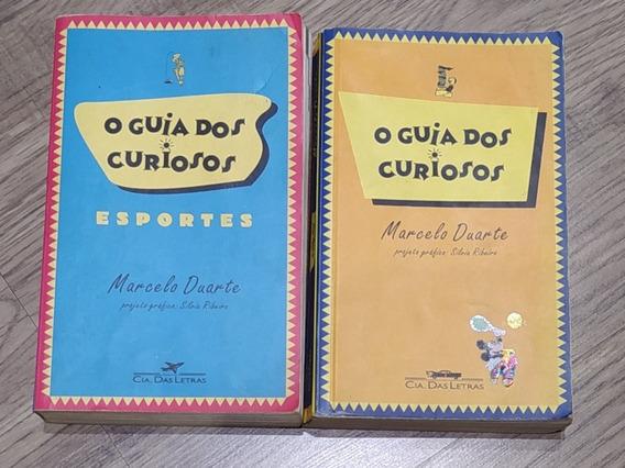 Livros Guia Dos Curiosos + Esportes Marcelo Duarte - Kit C/2