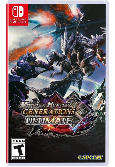 Monster Hunter Generations Ultimate Switch Mídia Física