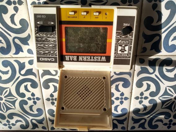 Mini Game Western Bar Casio Cg-300. 1984