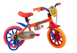 Bicicleta Infantil Caloi Power Rex Aro 12 - Laranja
