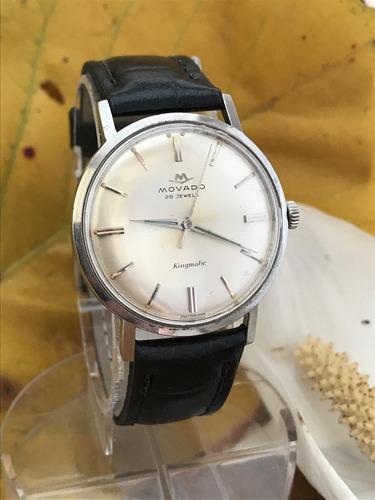 Relógio Automático Movado Sub Sea Pré Zenith 28 Rubis Déc 60